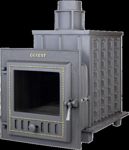 Чугунная банная печь ПБ-03 M Гефест до 25м3