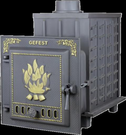 Чугунная банная печь  ПБ-04 Гефест до 15 м3