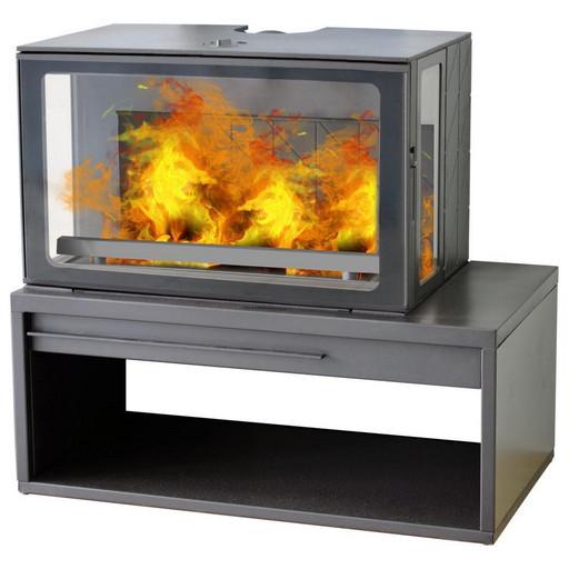 Печь Eco Minimal 50 черная
