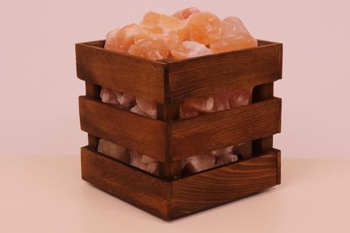 Солевая лампа «Кубический кристалл»