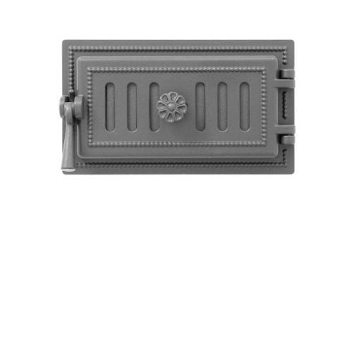 Поддувальная дверца Везувий 236 Антрацит