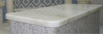 Лежак мраморный для хамама