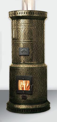 Печь ПКО-40 кирпичная в металлическом футляре