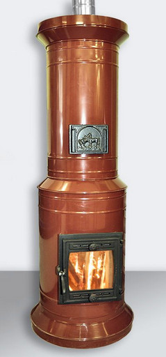 Печь ПКО -15 кирпичная в металлическом корпусе