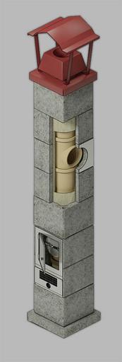 Одноходовая изостатическая система D=200 мм 8 пм