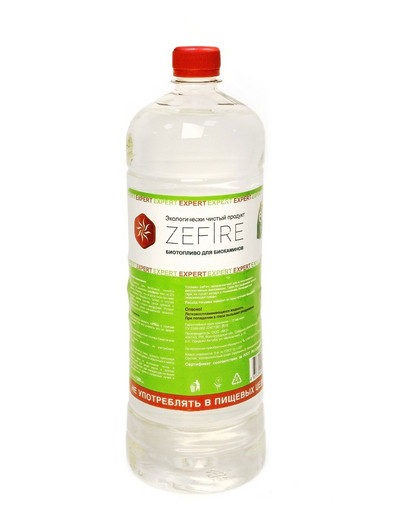 Биотопливо Expert 1,5 литра (ZeFire)