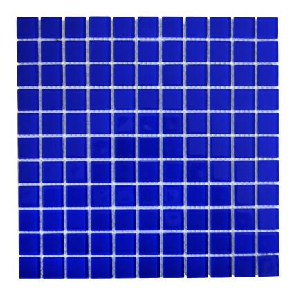 Мозаика стеклянная Aquaviva Сristall кобальт DCM307