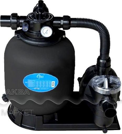 Фильтровальная установка Emaux Opus (с верхним вентилем) FSP350-4W, д.350 мм, 5.5 куб.м/ч