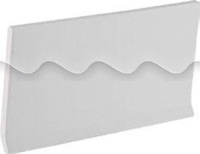 Плитка фарфоровая Serapool Плинтус 10х20 см, без глазури