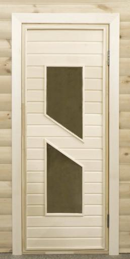 Дверь остекленная ПО8