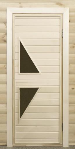 Дверь остекленная ПО7