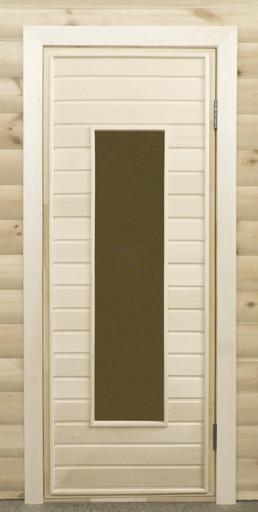 Дверь остекленная ПО4