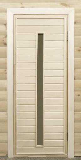Дверь остекленная ПО3
