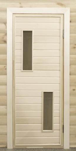 Дверь остекленная ПО2