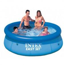 Бассейн надувной с фильтром INTEX 244*76см