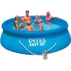 Бассейн надувной  с фильтром INTEX 305*76см