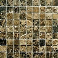 Мозаика натуральный мрамор EMPERADOR, 30*30мм