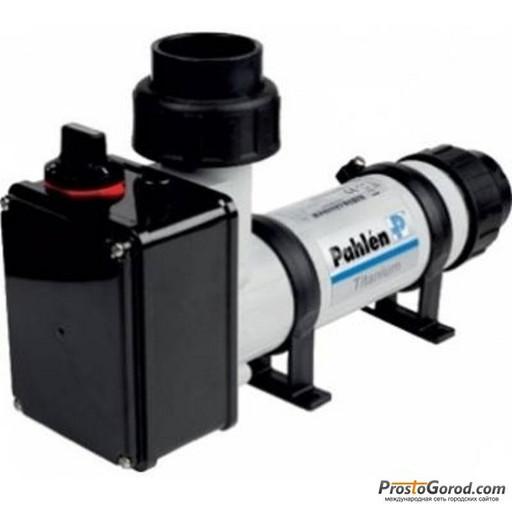 Электрический проточный нагреватель из пластика с датчиком потока