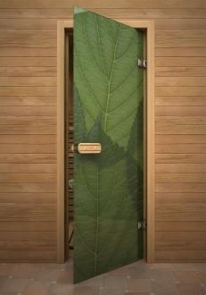 Зеленый листья
