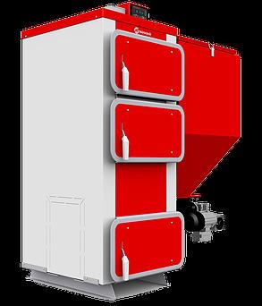 Q EKO (от 15 до 75 кВт) Котлы с автоматической подачей топлива - Поворотная горелка