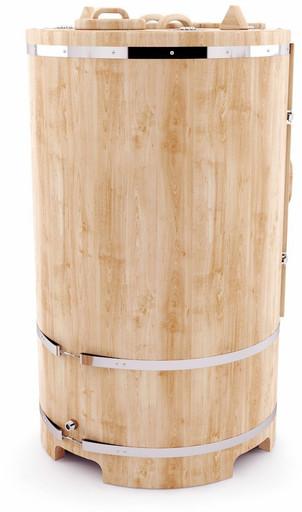 Кедровая фитобочка круглая