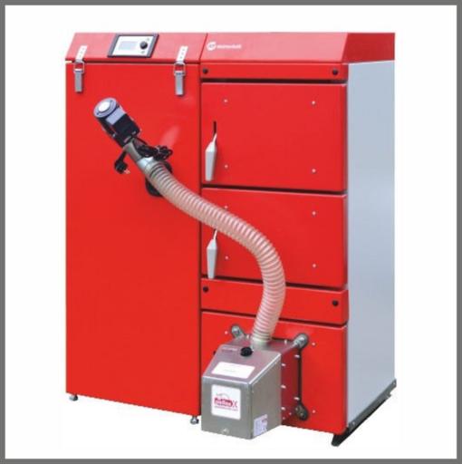 Q PELLET DUO 15 - 65 kW- пеллетный котел с автоматической подачей топлива