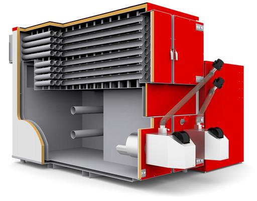 MAXPell- (250-6300м3) пеллетый котел с автоматической подачей топлива