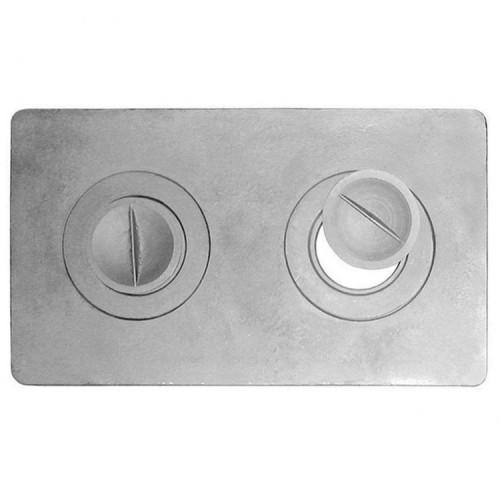 Плита чугунная двухконфорная П2-3 (Б)