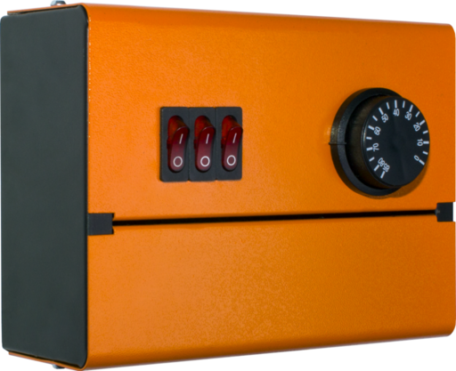 Пульт управления блоком ТЭНов в котлах  ПУВН-10