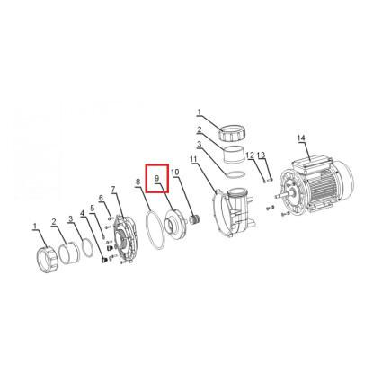 Крыльчатка насоса Aquaviva OS/LP 250-300