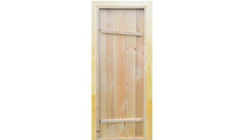 Дверь глухая Ласточкин хвост