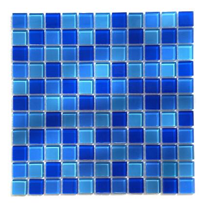 Мозаика стеклянная Aquaviva Сristall Jamaika светлая DCM302