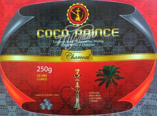 Уголь для кальяна Coco Prince (250 гр)