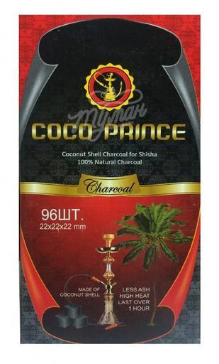 Уголь для кальяна Coco Prince (96 шт)