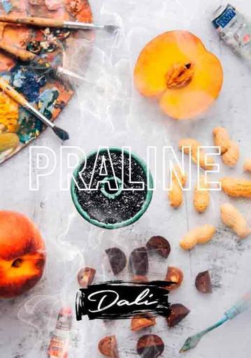 Бестабачная смесь Daly - Praline (Пралине, персик, арахис), 50 гр.