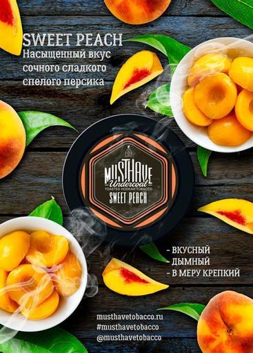 Табак MustHave - Sweet Peach (Сладкий персик), 25 гр.