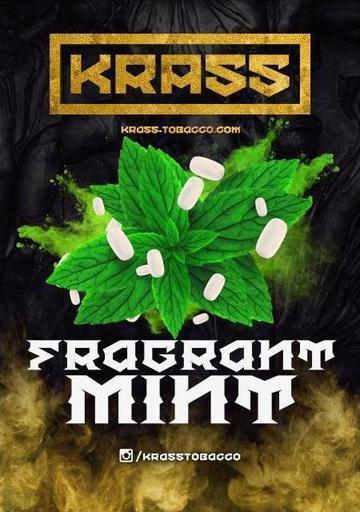 Табак Krass Yellow - Fragrait mint (Мята), 100 гр