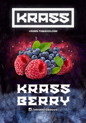 Табак Krass Black - Berry (Черника, Малина), 100 гр.