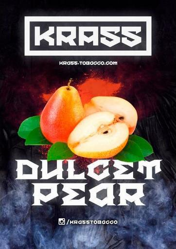 Табак Krass Black - Dulcet Pear (Груша), 100 гр.