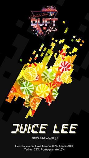 Табак Duft All-In - Juice lee (Лимонные леденцы)