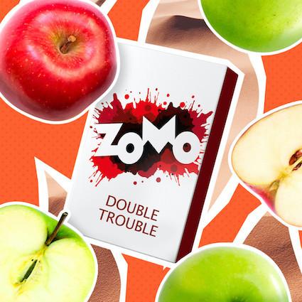 Табак Zomo - Double Trouble (Два яблока), 50 гр.