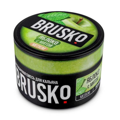 Бестабачная смесь Brusko - Яблоко с Мятой, 50 гр.