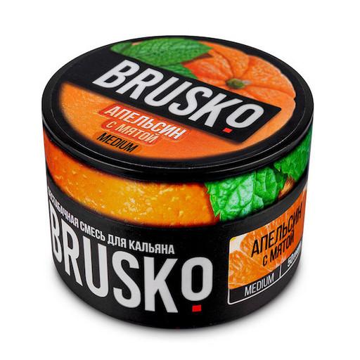 Бестабачная смесь Brusko - Апельсин с Мятой, 50 гр.