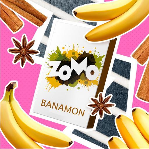 Табак Zomo - Banamon (Банан с корицей), 50 гр.