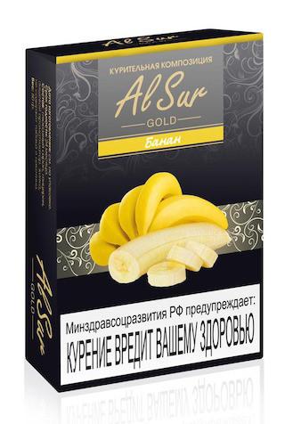 Бестабачная смесь Al Sur - Банан, 50 гр.