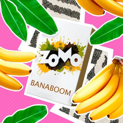 Табак Zomo - Banaboom (Банан), 50 гр.