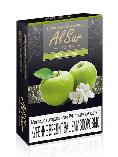 Бестабачная смесь Al Sur - Два Яблока, 50 гр.