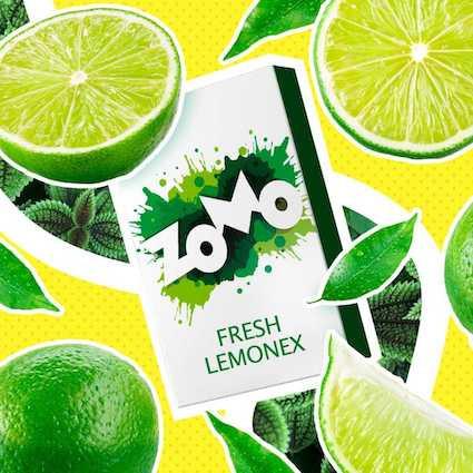 Табак Zomo - Fresh Lemonex (Лайм), 50 гр.