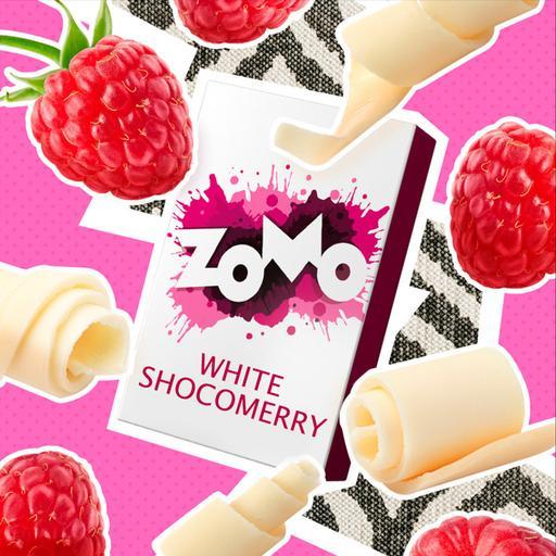 Табак Zomo - White Shocomerry (Белый шоколад с малиной), 50 гр.