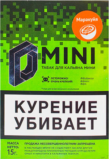 Табак D Mini - Маракуйя, 15 гр.